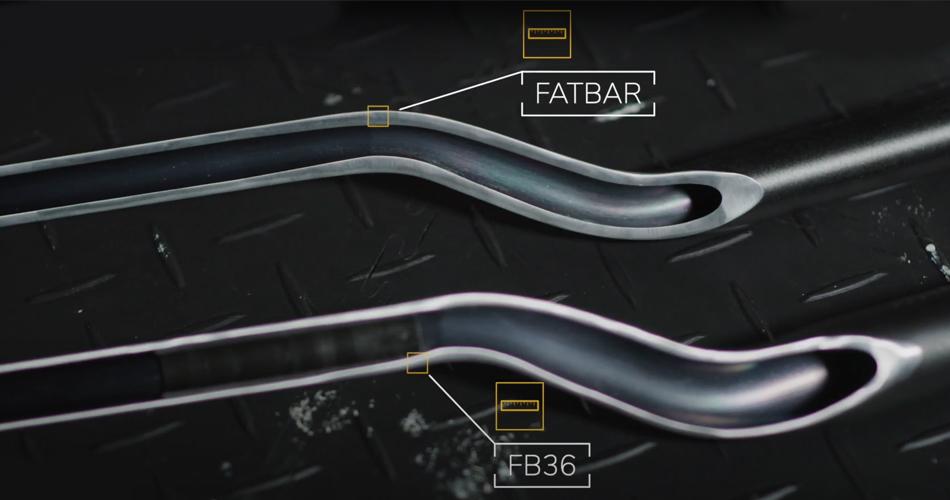 Le Guidon RENTHAL R-Works Fatbar 36 TECH™