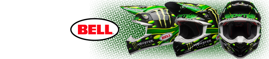 Le Casque BELL Moto-9 Flex MC Monster Replica