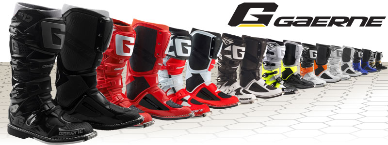Bottes SG-12 de Gaerne : la nouvelle pointure de la botte cross